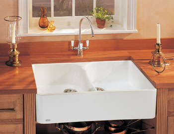 Franke Double Bowl Fireclay Farmhouse sink