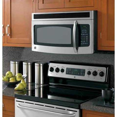 GE Stainless Steel Over the Range Microwave