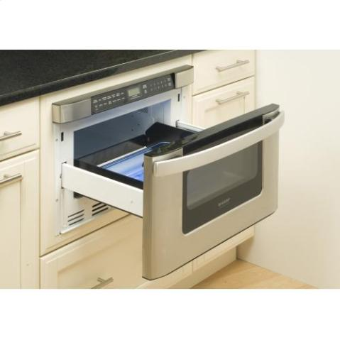 Microwave Drawer in Stainless Steel