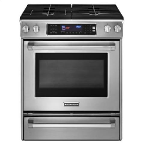 Kitchenaid Pro-Line Slide in Gas Range