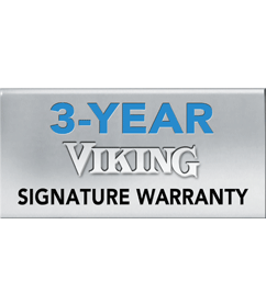 Viking 3 Year Warranty