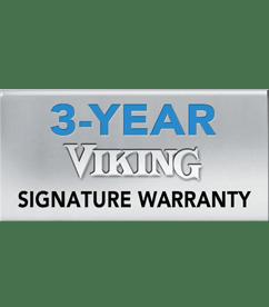 Viking 3 Year Warranty