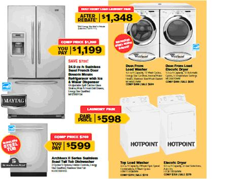 Whirlpool and KitchenAid Appliances on Sale