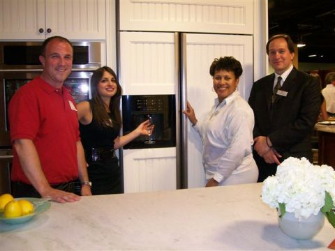 Karl's Appliance Paramus Showroom June 29, 2011 Event - Electrolux Display