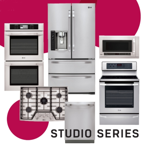 LG Studio Series Appliances