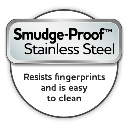 Frigidaire Smudge-Proof Stainless Steel Logo